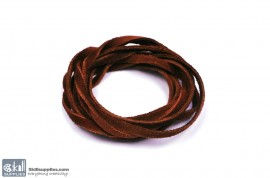 LeatherCord Suede RedBrown images