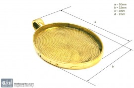 Pendant Tray24 Gold images