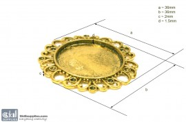 Pendant Tray29 Gold images