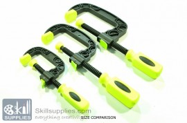 Plastic C clamp Medium images