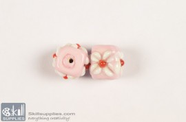 Super fancy glass beads 24 images