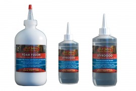 Thermocol or styrofoam Glues, see adhesive section for pricing
