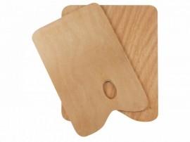 Wooden Palette 25X30cm,Rectangle3mm