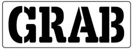Words Stencil - Grab