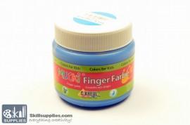 Fingerpaint Blue