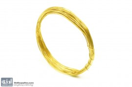 Jewellery Wire Gold, Gauge No.24 images