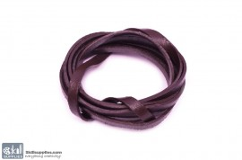 LeatherCord DarkBrown Flat images