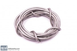 LeatherCord Silver 2.5mm images