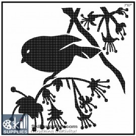 Nature Stencil Bird BI003 images