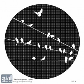 Nature Stencil Bird BI024 images