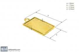 Pendant Tray35 Gold images