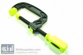 Plastic C clamp Medium