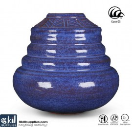 Pottery Low Fire Glaze A-24 Exotic Blue images