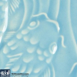 Pottery Low Fire Glaze LG-24 Light Blue images