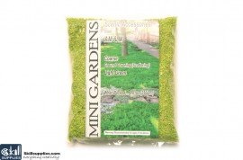 Artificial Ground Cover Grass Light Green Coarse 250g images