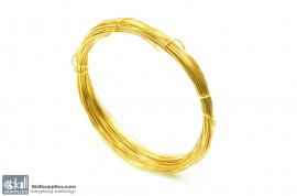 Jewellery Wire Gold, Gauge No.22