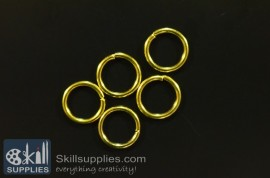 Jump rings 10mm  EN1 ,20 gms   gold images
