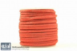 LeatherCord Suede Red images