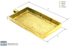 Pendant Tray23 Gold