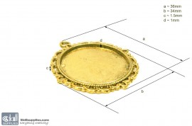 Pendant Tray28 Gold images