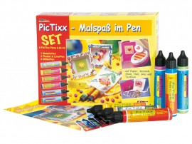 PicTixxPen Set ,Painting fun in the pen