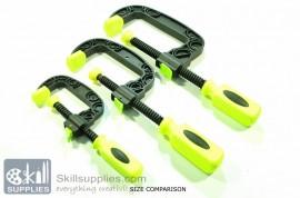 Plastic C clamp Small