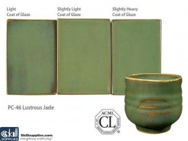 Pottery High Fire Glaze PC-46 Lustrous Jade images