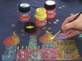Textile&Fabric painting Set2 images