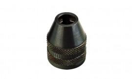 Three-jaw steel drill chuck