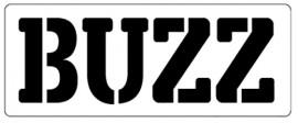 Words Stencil - Buzz