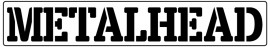 Words Stencil - Metalhead images