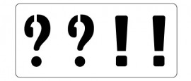 Words Stencil - Punctuation