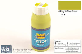 AcrylicPaint LightOliveGreen