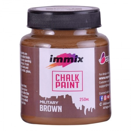 Chalk Paint Military Brown