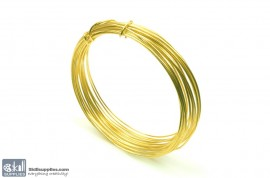 Jewellery Wire Gold ,Gauge No.18 images