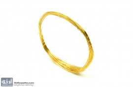 Jewellery Wire Gold, Gauge No.26 images