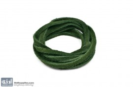 LeatherCord Suede DarkGreen images