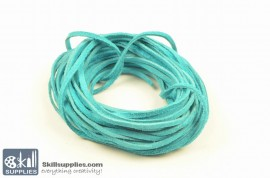 LeatherCord Suede Turquoise images