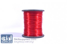 Nylon cord 0.3mm red, 100 mts images