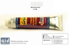 OilColour OpaqueWhite 20ml images