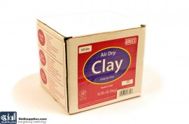 Pottery Clay Air-Dry White 4.5kg images