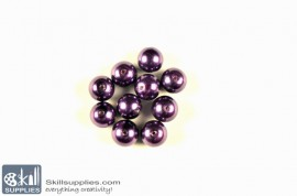Round glass beads Pearls 6 images