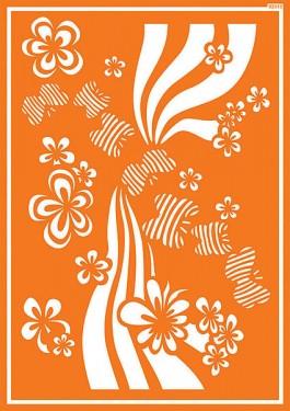 Textile stencil 10