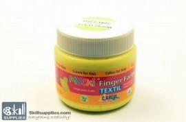 Fingerpaint TEXTIL Yellow