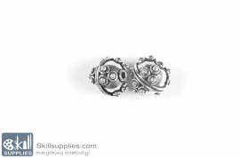 German silver Bead 40 images
