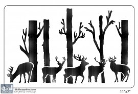 Nature Stencil Animals ANM001 images
