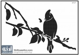 Nature Stencil Bird BI006 images