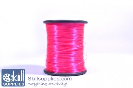 Nylon cord 0.3mm feuschia,100 mts images