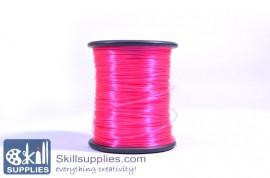 Nylon cord 0.3mm feuschia,100 mts