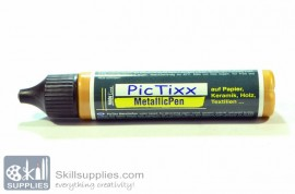 PicTixx MettalicPen Gold images